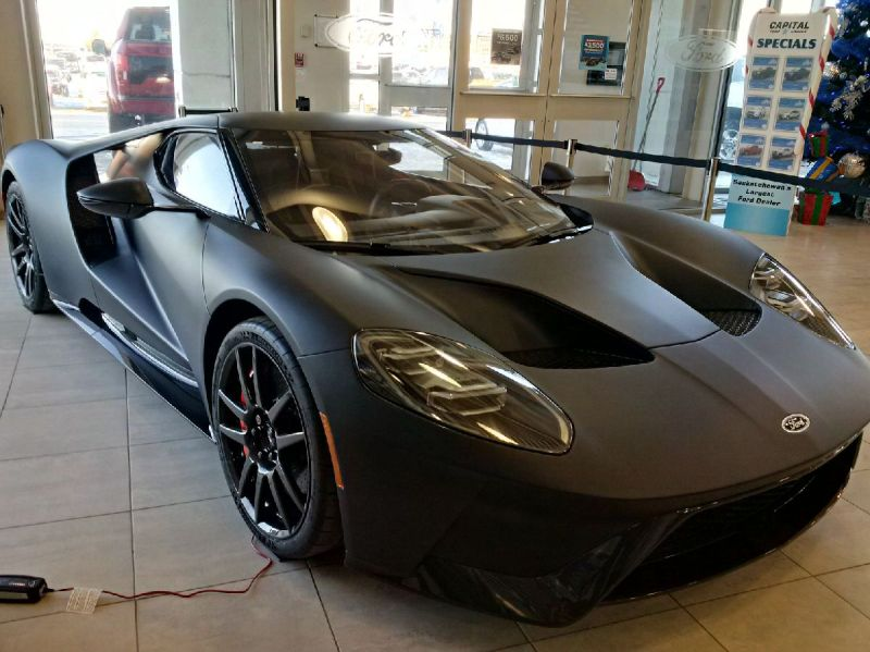 Capital Ford Gt Front And Side