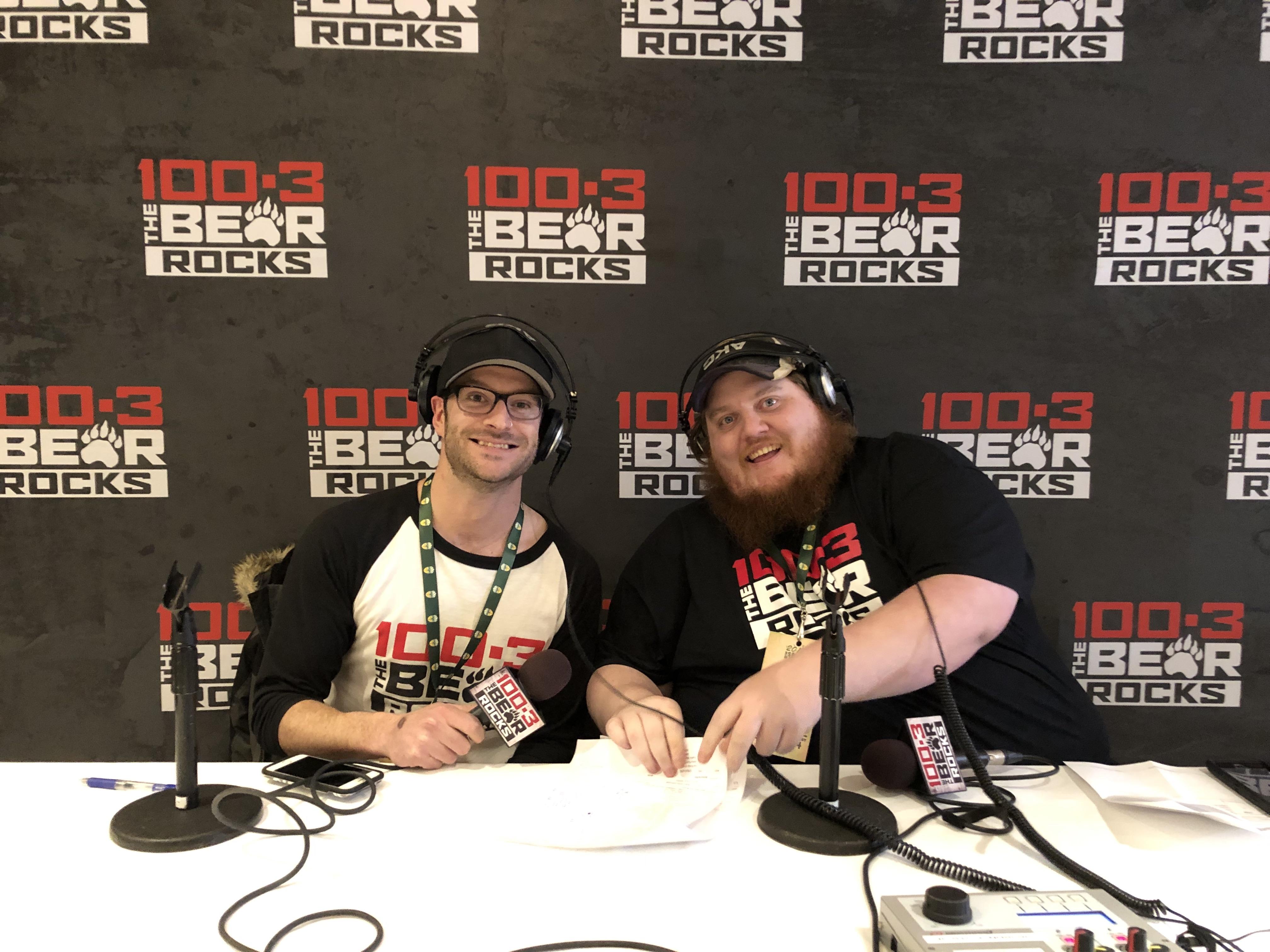181122 Spirit of Edmonton 100.3 The Bear with Toby & Warren
