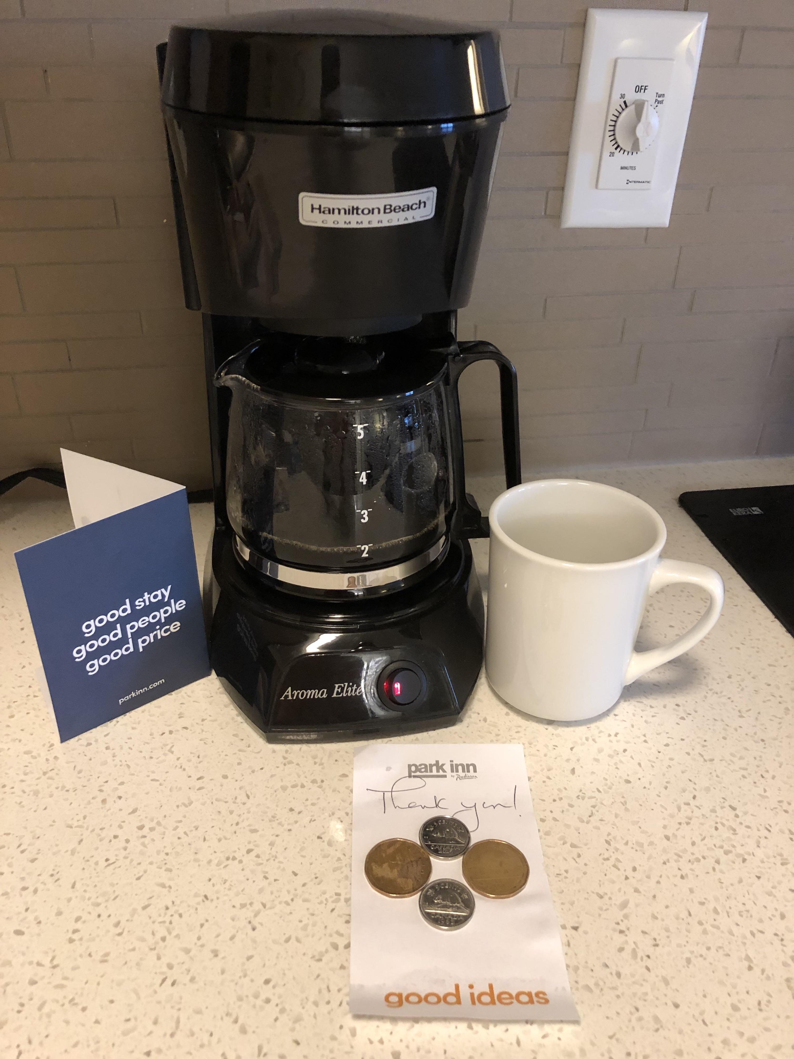 Park Inn YYC Calgary Coffee Ceramic Cup