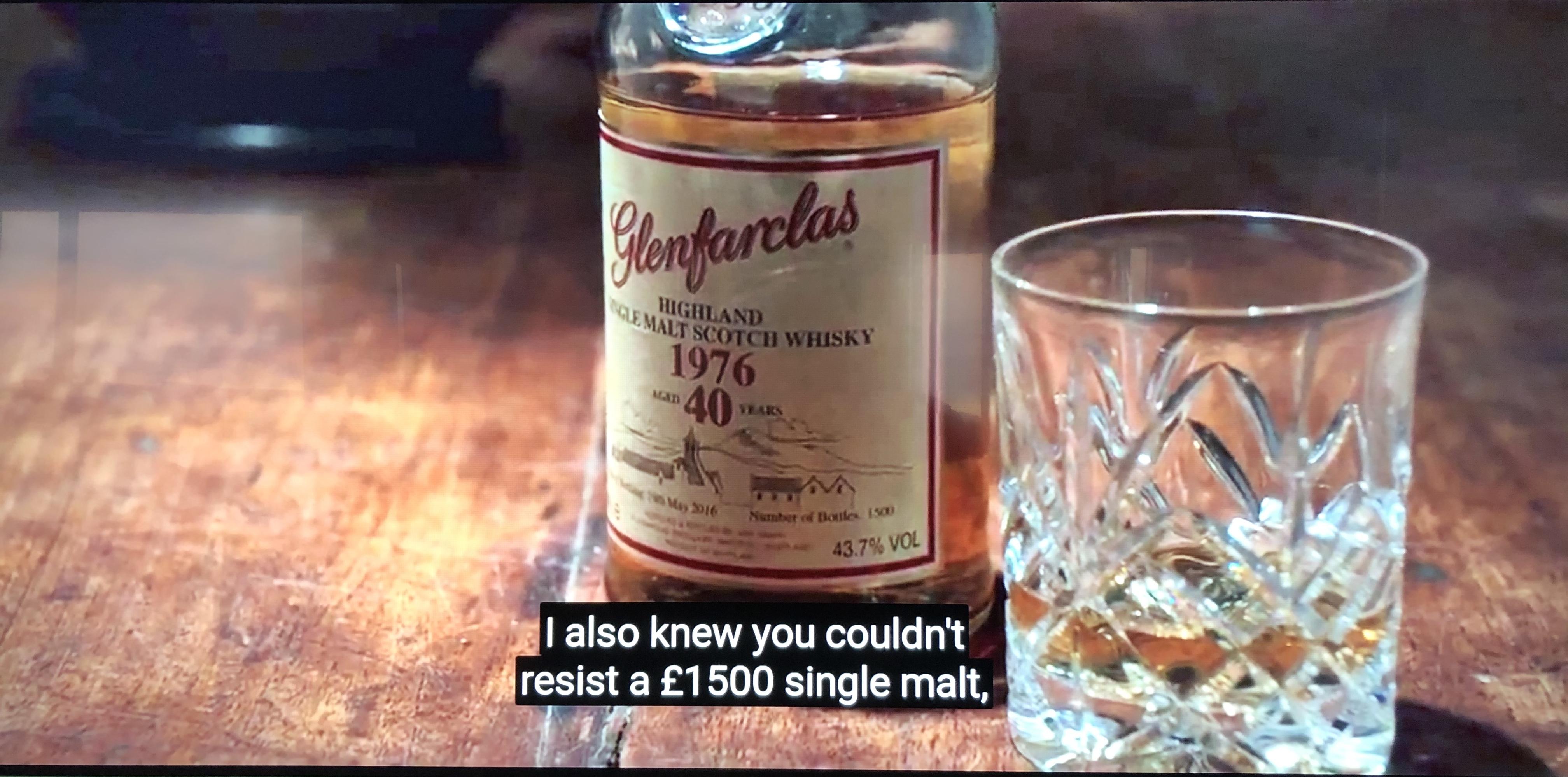20200421 I knew you couldn't resist Glenfarclas 40 yo